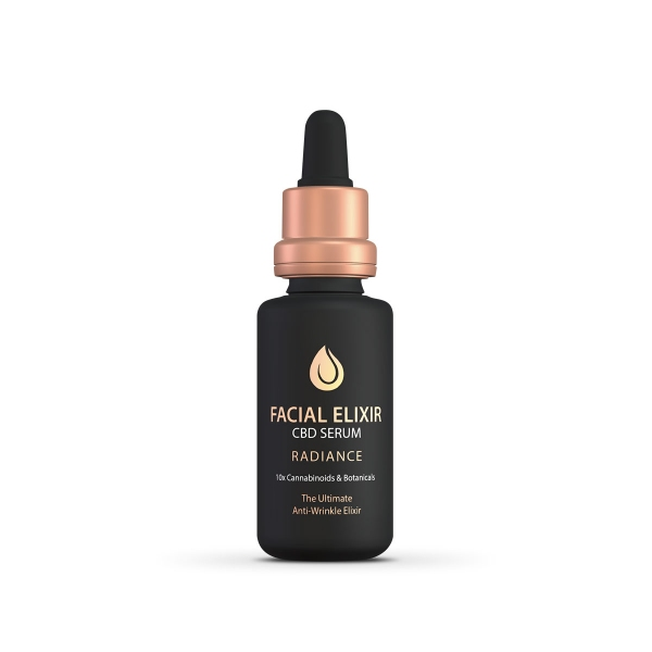 Pavate Black Label Facial Elixir CBD Anti Aging Serum