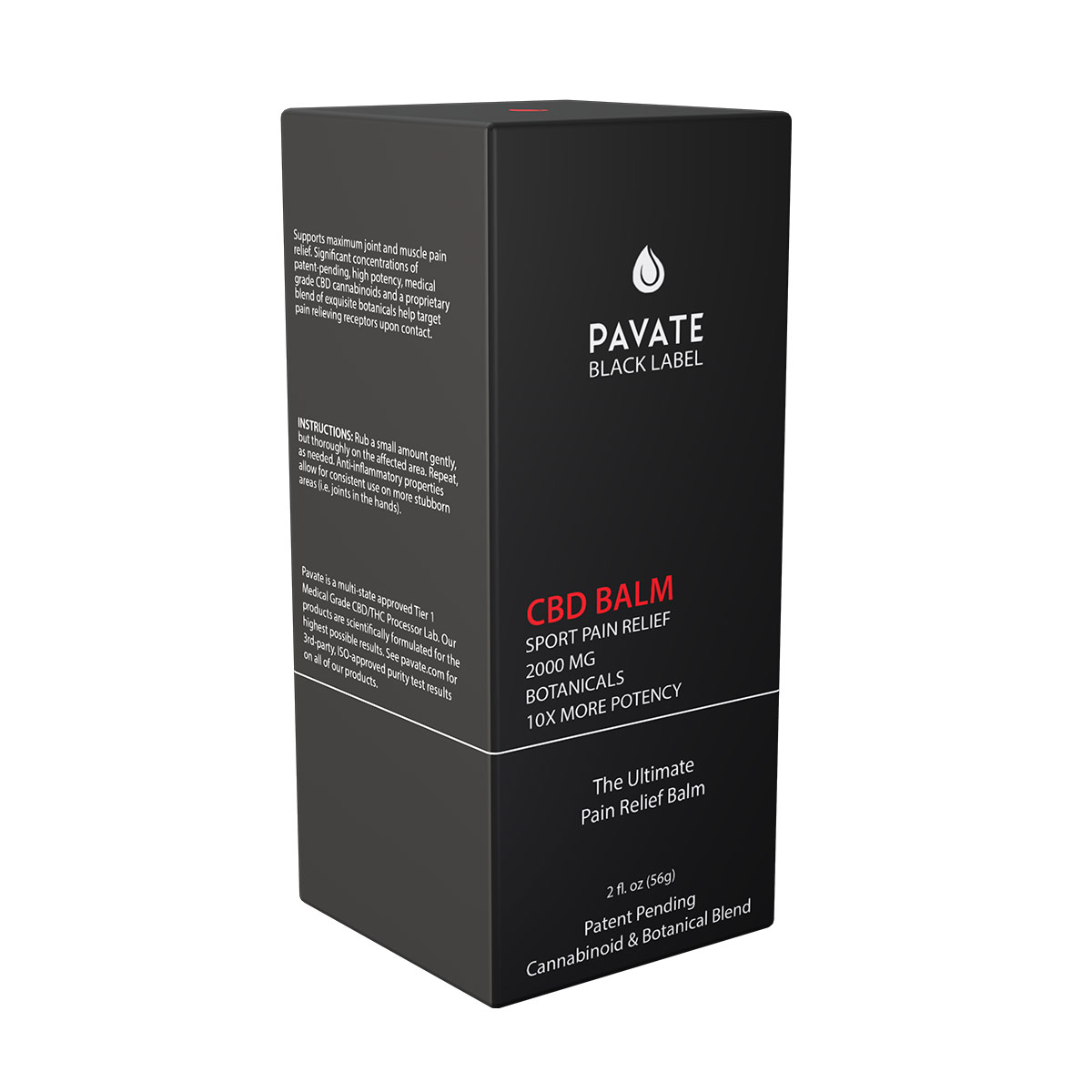 Pavate-Black-Label-Pain-Sport-Balm-2000mg-box
