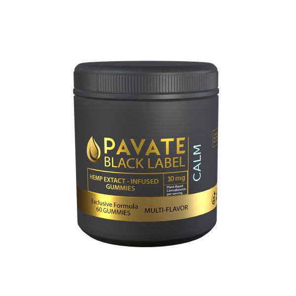 Pavate Black Label CBD Gummies