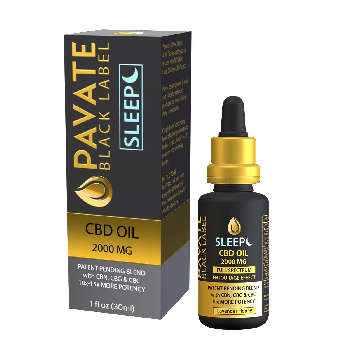 pavate-black-label-sleep-cbd-tincture-2000mg-bottle+box