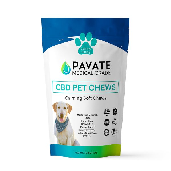 Pavate CBD Pet Chews